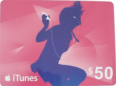 $50 iTunes Gift Card (code only)