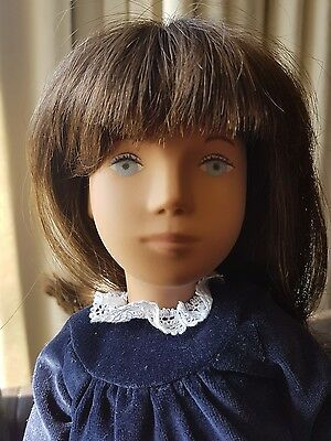 "VINTAGE brunette ""SASHA "" DOLL, IN PERFECT  CONDITION and original clothes"