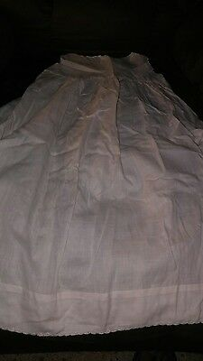 Antique Vintage Christening Gown for Baby or Doll
