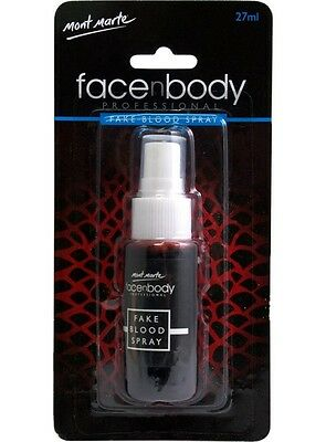 Mont Marte Premium Face and Body Fake Blood Spray 27ml