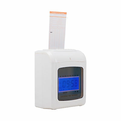 Payroll Attendance Time Clock Punch Machine for Small Business Offices