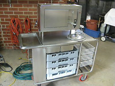 Stainless Steel Commercial Grade Tea Trolley