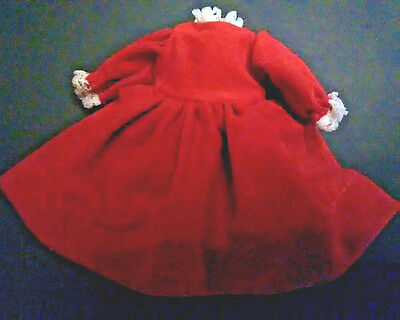 "Red Dress Fits Madame Alexander 8"" Doll"
