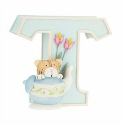 ALPHABET LETTER T for Teddy by Child to Cherish (MORE LETTERS AVAIL) *BNIB