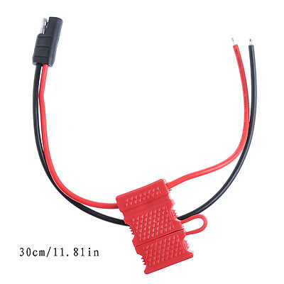 DC Power Cable With Fuse For Motorola Mobile Radio/Repeater GM360 CDM1250 CM140