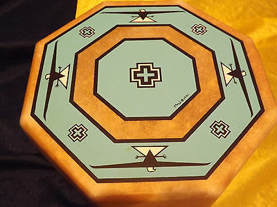 All One Tribe Drum 1991 Henry Samora Dumnaier Taos New Mexico