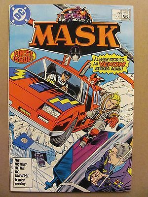 Mask #1 DC Comics 1987 Series Based on Cartoon Show & Toy Line 9.2 Nar Mint-