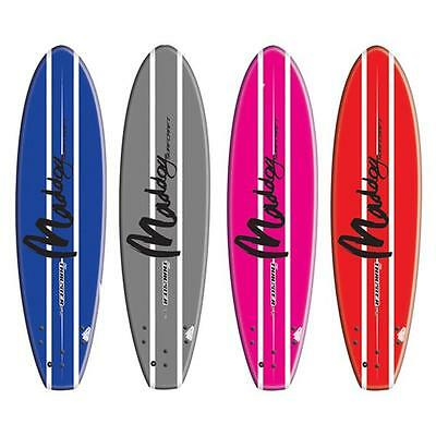 "Maddog Thruster 5'5"" Hand-shaped Soft Surfboards- Beginner Softboard For Kids"