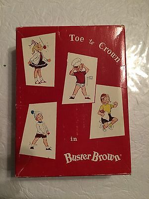 vintage Buster Brown sock box Vintage   Collectible (Box only)