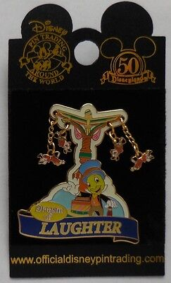 Disney Pin DLR Walt Disney's Parade of Dreams Dream of Laughter Jiminy Cricket