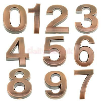 Antique 5cm Door Number 0-9 DIY Room Plates Address Office Home House Sign Tabs