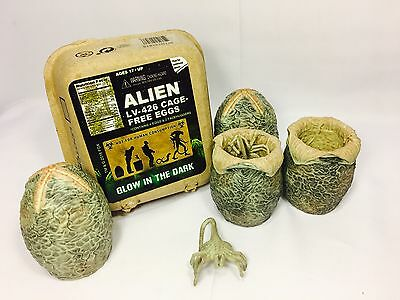 Exclusive Alien LV-426 Glow-In-The-Dark Eggs (Loot Crate) Xenomorph / Facehugger