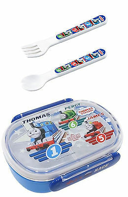3 Thomas the Tank Engine Products - Lunch Box, Spoon and Fork