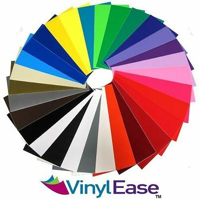 10 Rolls of 12 inch x 10ft Permanent Sign Craft Vinyl UPick from 30 Colors V030