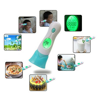 Baby Infant Kids Body Infrared&Laser Digital Temperature Thermometer Non-contact
