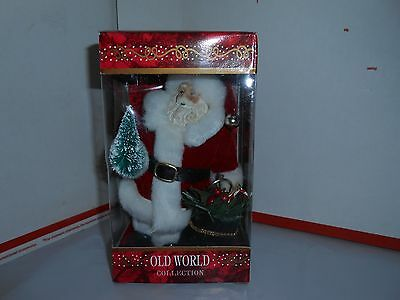 Nos Old World Collection Santa Claus 7 1/2 Inch Christmas Ornament Tree/toy Sack