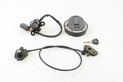 2009 Triumph 1050 Speed Triple Ignition Switch Key Lock Set Gas Cap Sea T2507551