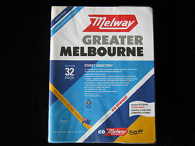 Melway Greater Melbourne Street Directory 2005 Edition 32