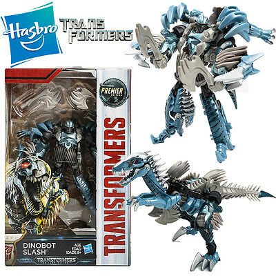 Transformers 5 The Last Knight Dinobot Slash Action Figures Premier Edition Toy