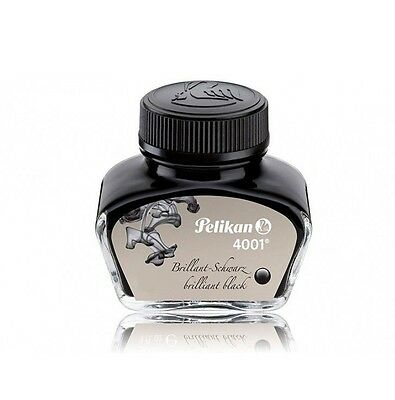Pelikan 4001 Fountain Pen ink Standard Bottle 30ml Brilliant Black