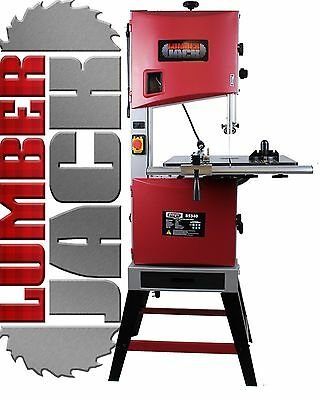 "Lumberjack BS340 Professional 340mm 14"" Woodworking Bandsaw Cast Tilt Table 240v"