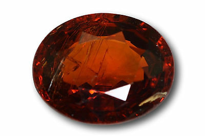 Grenat Spessartine Fanta naturel 2.06 carats orange
