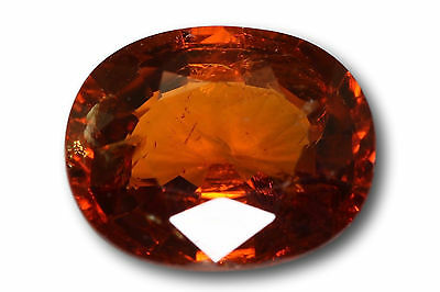 Grenat Spessartine Fanta naturel 2.09 carats orange