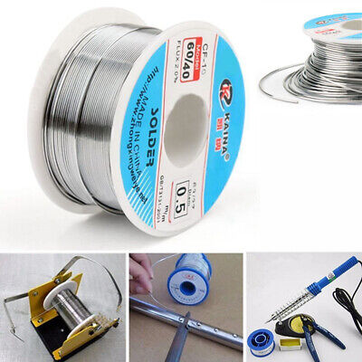 100g Flux 0.5mm Soldering Wire Rosin Core 60/40 Tin Lead Thin Solder Electrical