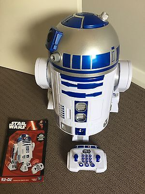 r2d2 Star Wars  interactive Robot Remote Control Toy