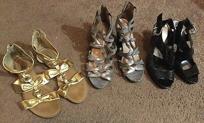 Lot of 3 Women's Shoes Size 10