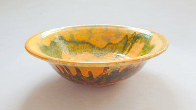 Antique French Pottery Bowl from Vallauris