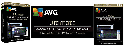 Avg Ultimate 2017 For Unlimited Devices 1 Year- Windows, Mac, Android