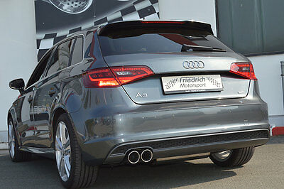 NIL Stainless Steel Exhaust Pipe Audi A3 8V Sportback 2WD from yr 2012 1.2l TFSI