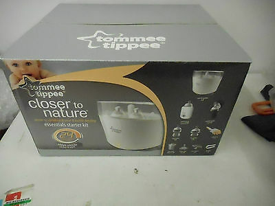 Tommee Tippee Closer to Nature Essentials Starter Kit-Factory Sealed Box
