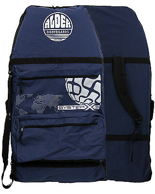 Alder System 3  Bodyboard Bag in Navy