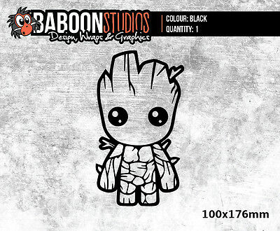Guardians of the Galaxy Groot Vinyl Decal/Sticker Car, Laptop, Window, Glass