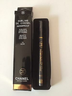 Stylo Eyeliner Sublime De Chanél Waterproof 10 Noir*crayon*feutre*lot Maquillage