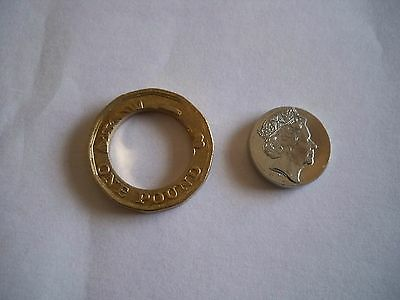 Uncirculated 2016 New Pound Coin With Serious Error