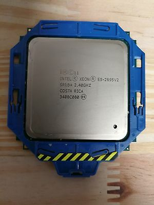 HP | Intel Xeon E5-2695 V2 SR1BA 2.40GHZ | 730246-001 | 12 Cores | 24 Threads
