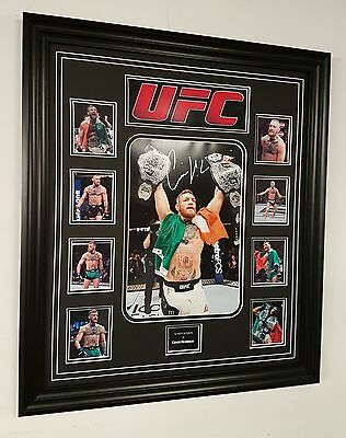 *** RARE CONOR MCGREGOR SIGNED PHOTO PICTURE Autograph Display **