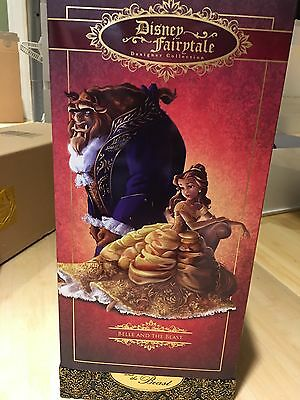 Disney Fairytale Designer Collection Limited - Beauty Belle And The Beast Nib
