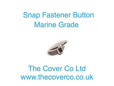 Snap Fastener Buttons, Boat Cover Press Studs, Marine Grade Fixing