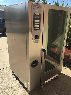 Commercial Rational Scc 202 Gas 40 Tray Combi Oven, Very Rare Oven!!