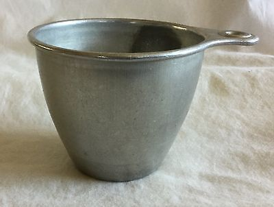 Vintage EKCO Measuring 1 Cup Aluminum With Tab Handles