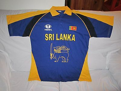 Sri Lanka One Day Cricket Shirt Jersey Size 2Xl