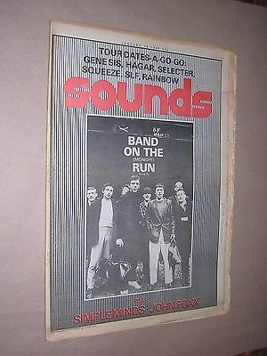 SOUNDS. JANUARY 19th 1980. MUSIC MAGAZINE. DEXY'S. SQUEEZE. SELECTOR.