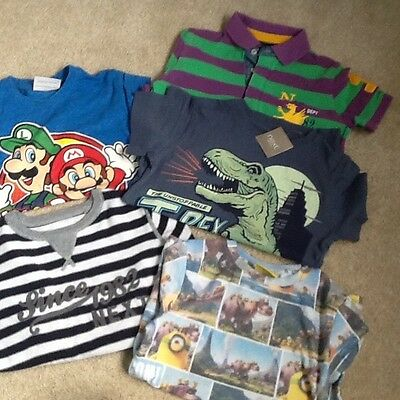 4x boys 'Next' tshirts age 6, and 1 jumper....all vgc, one t-shirt new with tags