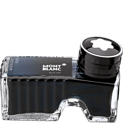 Montblanc Tintenglas 60ml Midnight blue