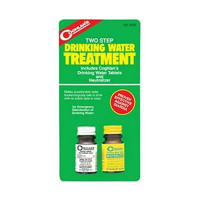 Coghlan's 9586 2 Step Water Treatment Tablets and Neutralizer