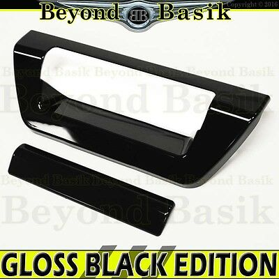 2015-2018 FORD F150 F-150 Door Trim Overlay GLOSS BLACK Tailgate Handle COVER